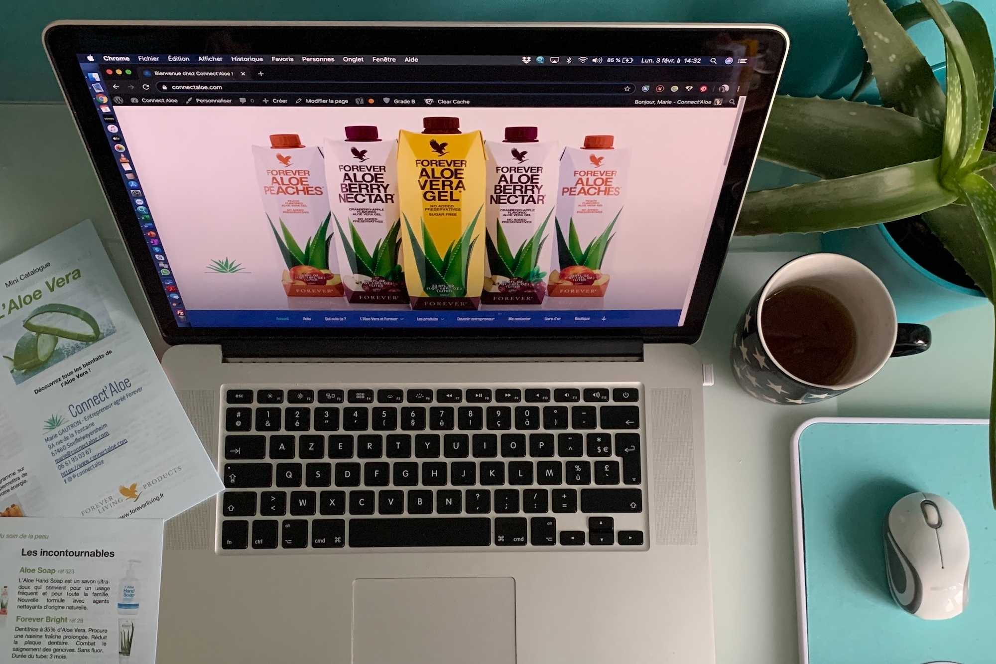 Offre click personnalisé création site web sur mesure